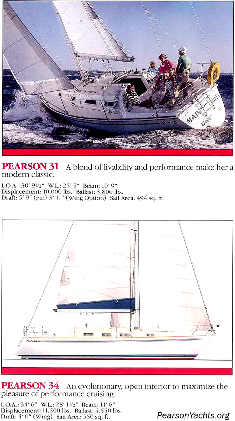 Pearson Yachts 1989