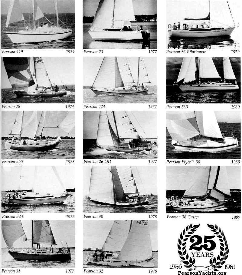 Pearson Yachts 25 Year Anniversary
